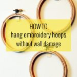Hanging Hoops Without Wall Damage