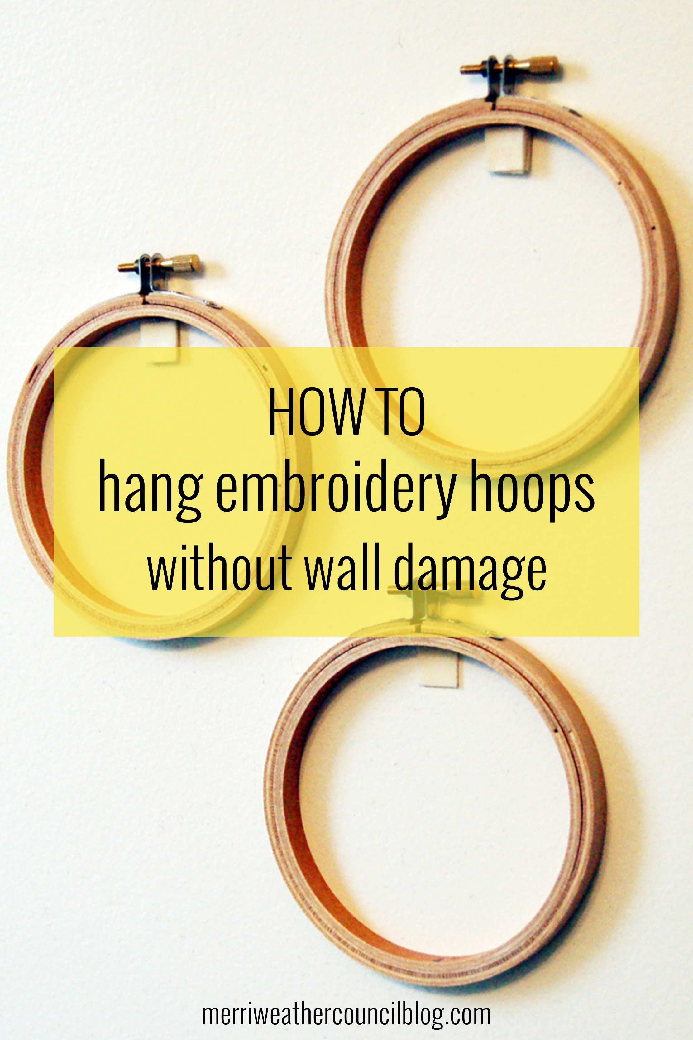 Hanging Hoops Without Wall Damage Themerriweather