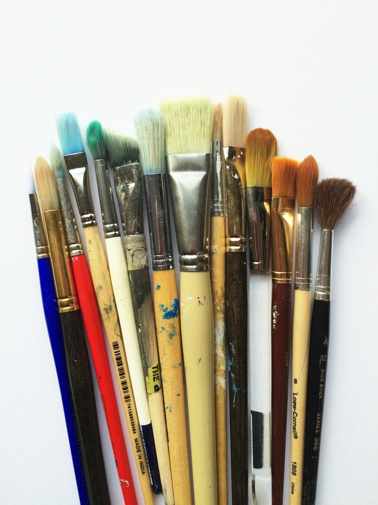 paintbrushes | the merriweather council blog