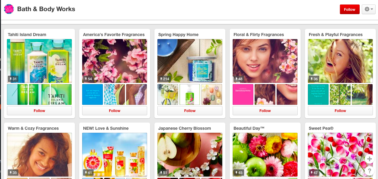 taking queues from big brands on pinterest   the merriweather council blog