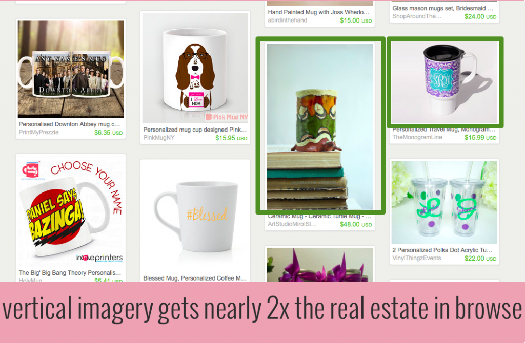 Learn how to update your images with this simple trick to make your Etsy shop Pinterest friendly and to leverage the power of Etsy Browse! | the merriweather council blog