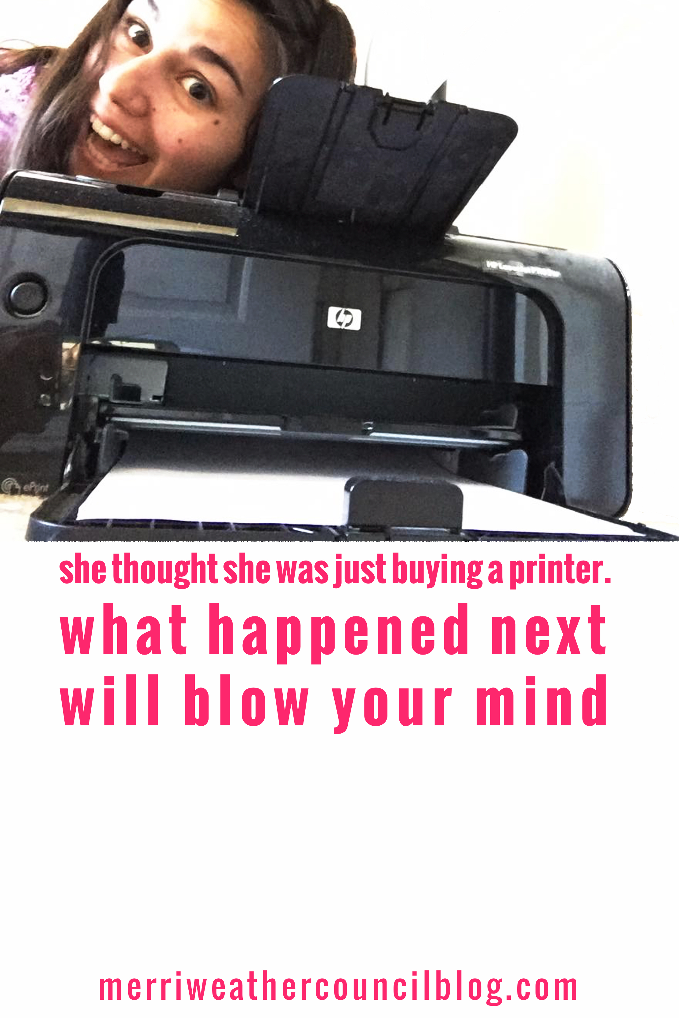 the best printer ever + why you are wasting money with yours | the merriweather council blog