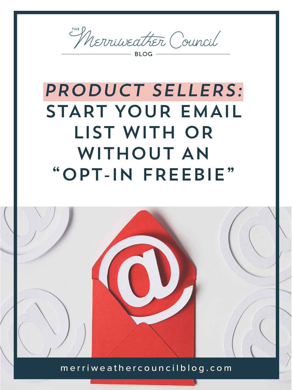 """Product Sellers: Start Your Email List with or WITHOUT an """"opt-in freebie"""" 