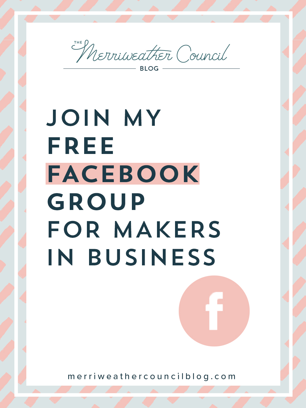 join my free Facebook group for makers in business | the merriweather council blog