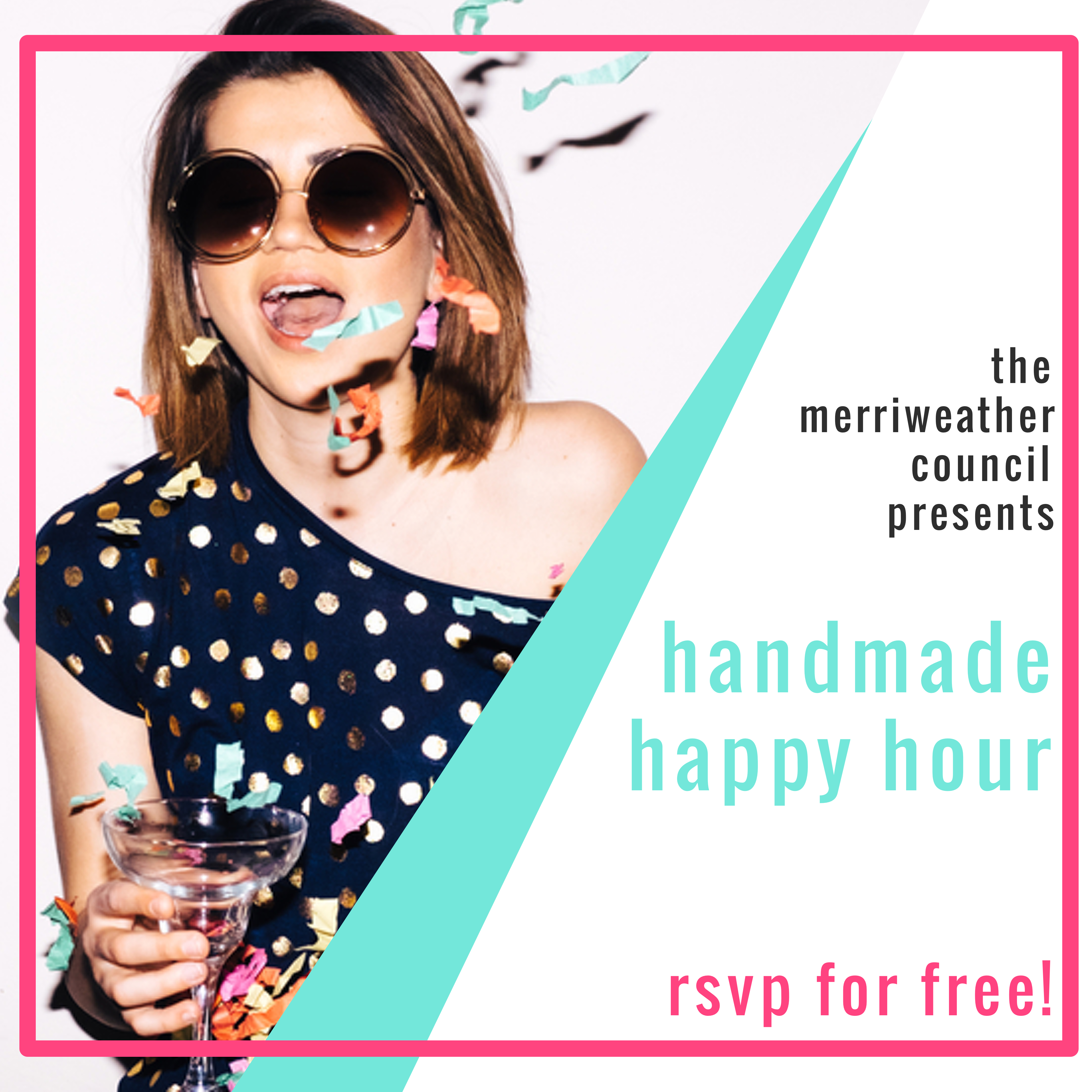 handmade happy hour | the merriweather council blog