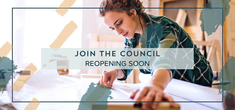 Join The Council to learn how to stop putting more work on yourself, save more time, and be a productive business owner in a handmade business. | The Merriweather Council