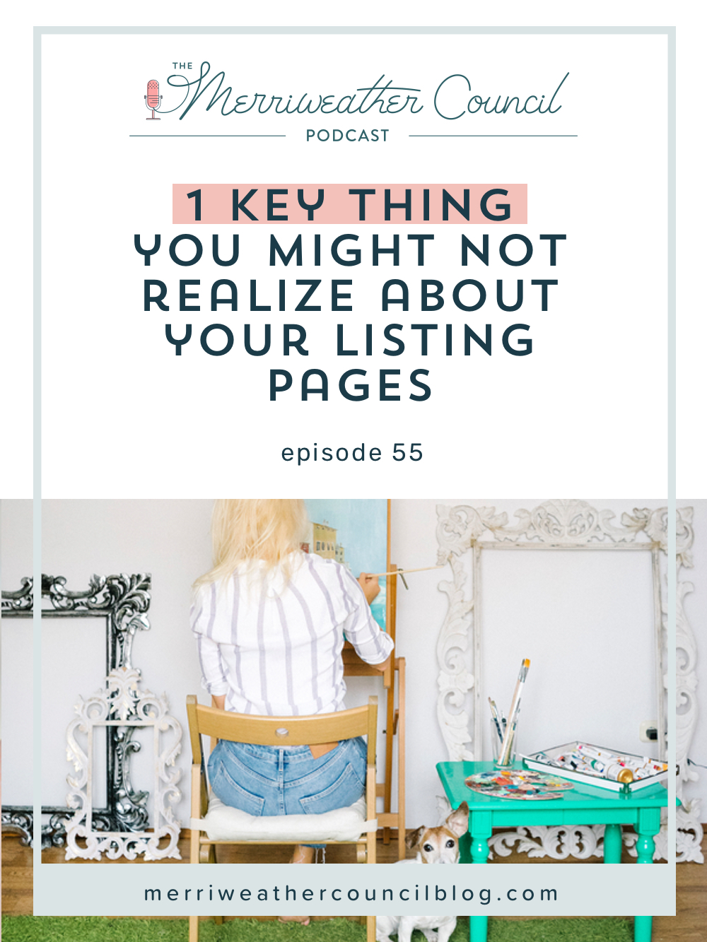 As sellers using the internet we need to understand that every page of our site is a separate, individually indexed page on the internet. In today's episode, I'm going over exactly how to create effective product listing pages and why these pages need to be given the same treatment you are likely giving your home page. | The Merriweather Council Blog
