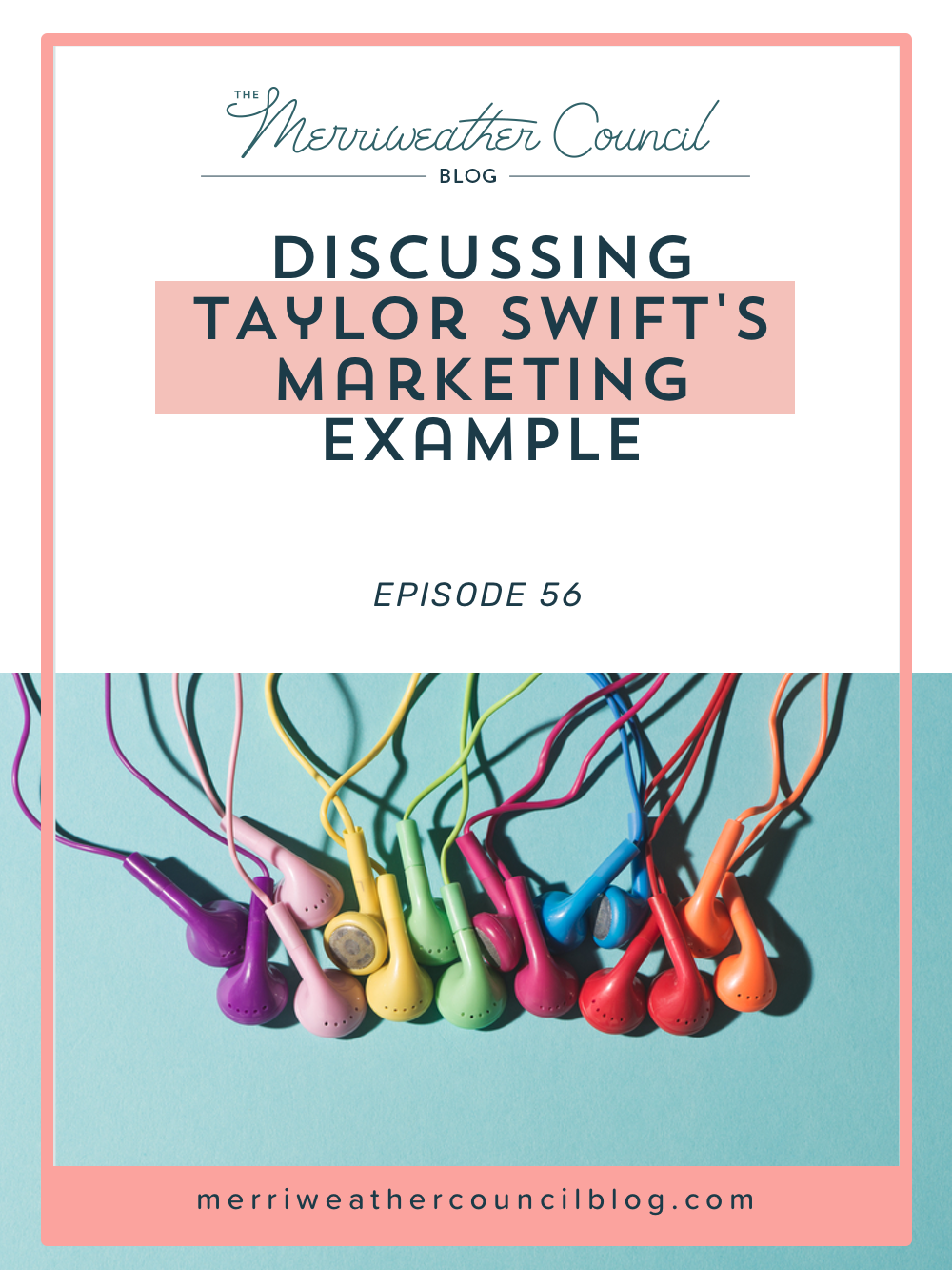 I always love looking at what businesses and brands outside of my immediate space are doing and learning what I can from them. Taylor Swift has set some amazing marketing examples and I was so pumped to find out the Kimber had been following them all pretty closely. Tune in to hear the Taylor Swift Marketing Lessons. | The Merriweather Council Blog