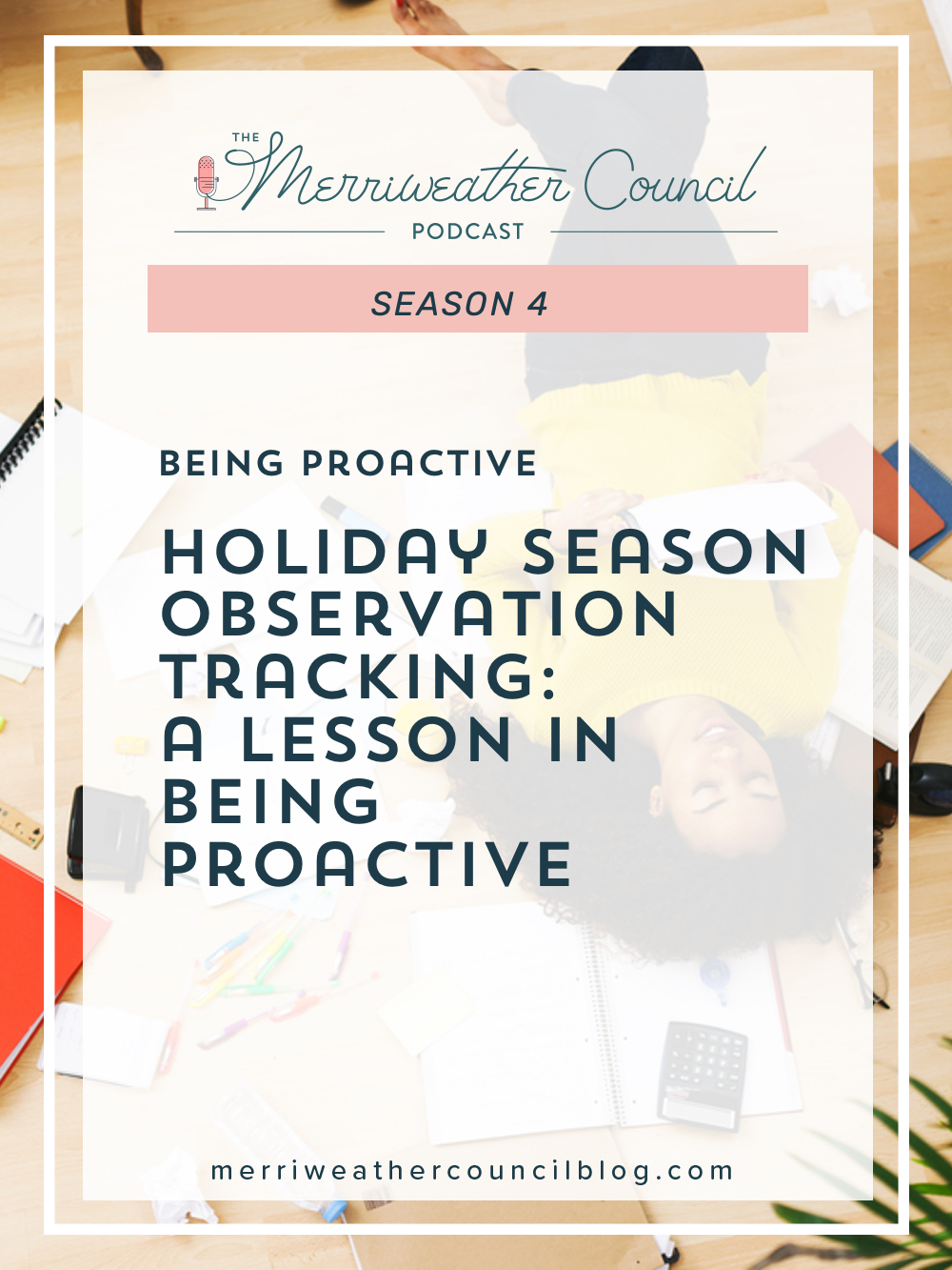 On today's episode, I'm giving you a guided lesson in what to track during the holiday rush so your holiday season review prepares you for next year.   The Merriweather Council Podcast