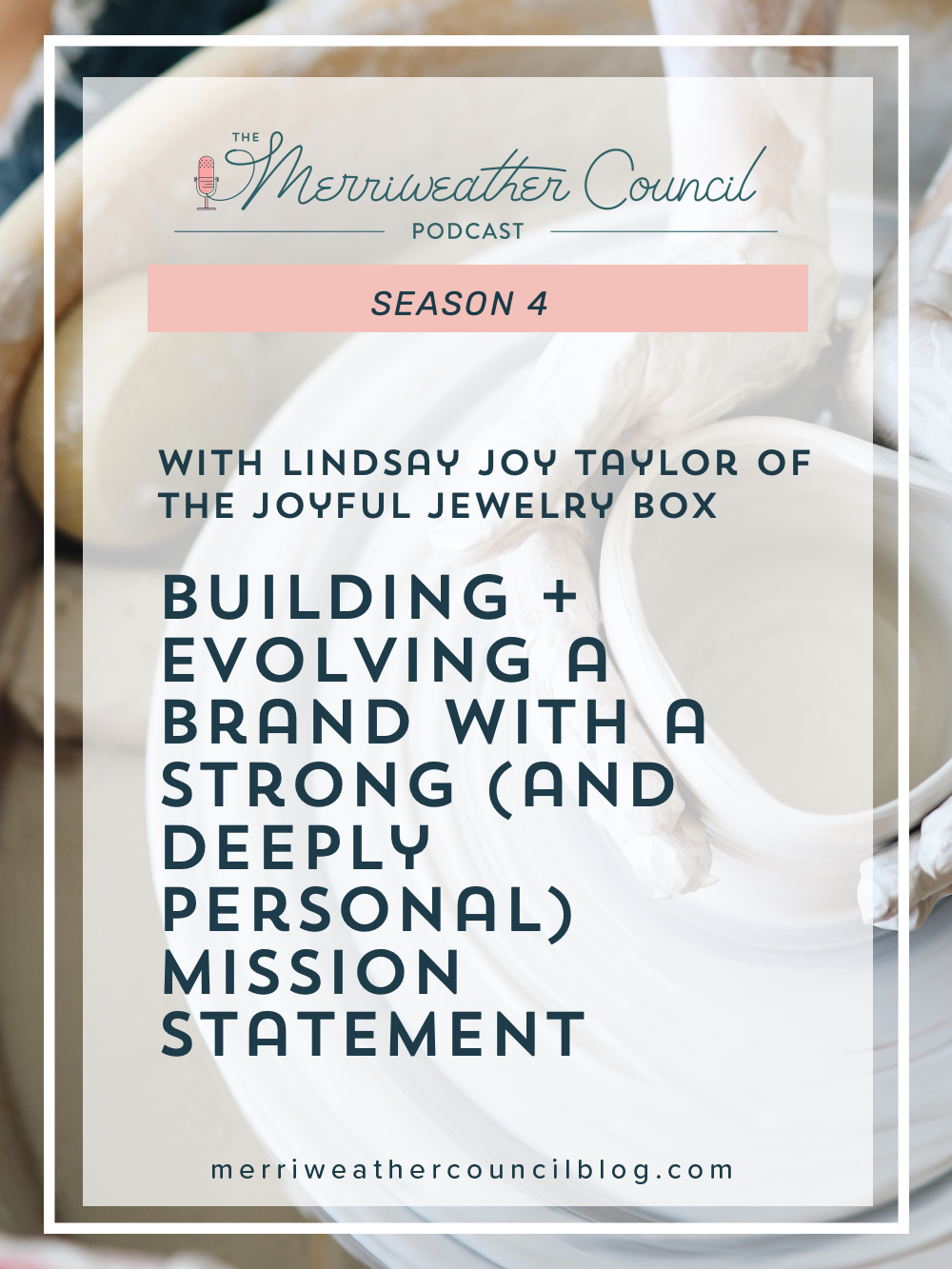 Building + Evolving a Brand with a Strong (and Deeply Personal) Mission Statement   Merriweather Council Podcast