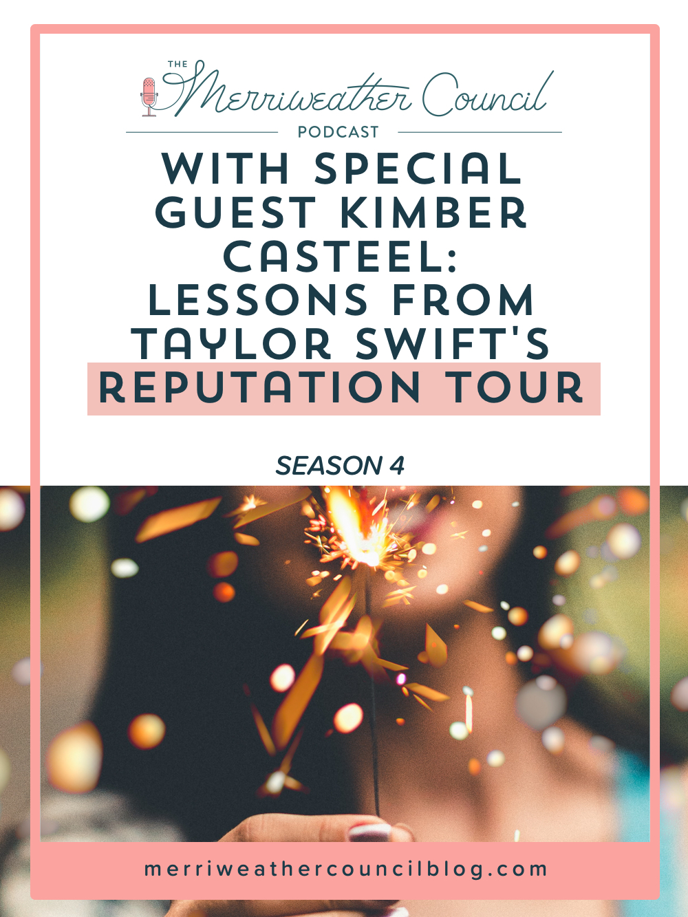 In this episode I chat with Kimber about marketing inspiration from Taylor Swift plus some of the things we found most memorable about her tour campaign. | The Merriweather Council Blog
