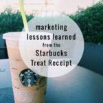 Promotions That Work: Starbucks Treat Receipt