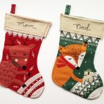 Custom Hand Embroidery Christmas Stockings