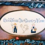 Thrift Store Needlework, Embroidery and Cross Stitch