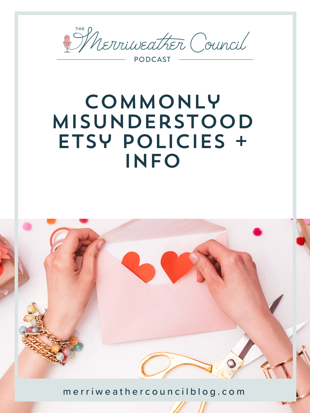 Commonly Misunderstood Etsy Policies + Info | The Merriweather Council