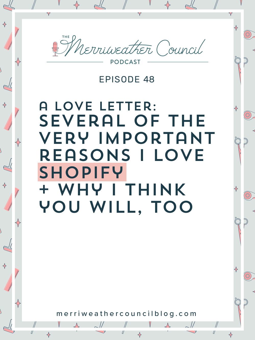 Why I love Shopify and why you will too.