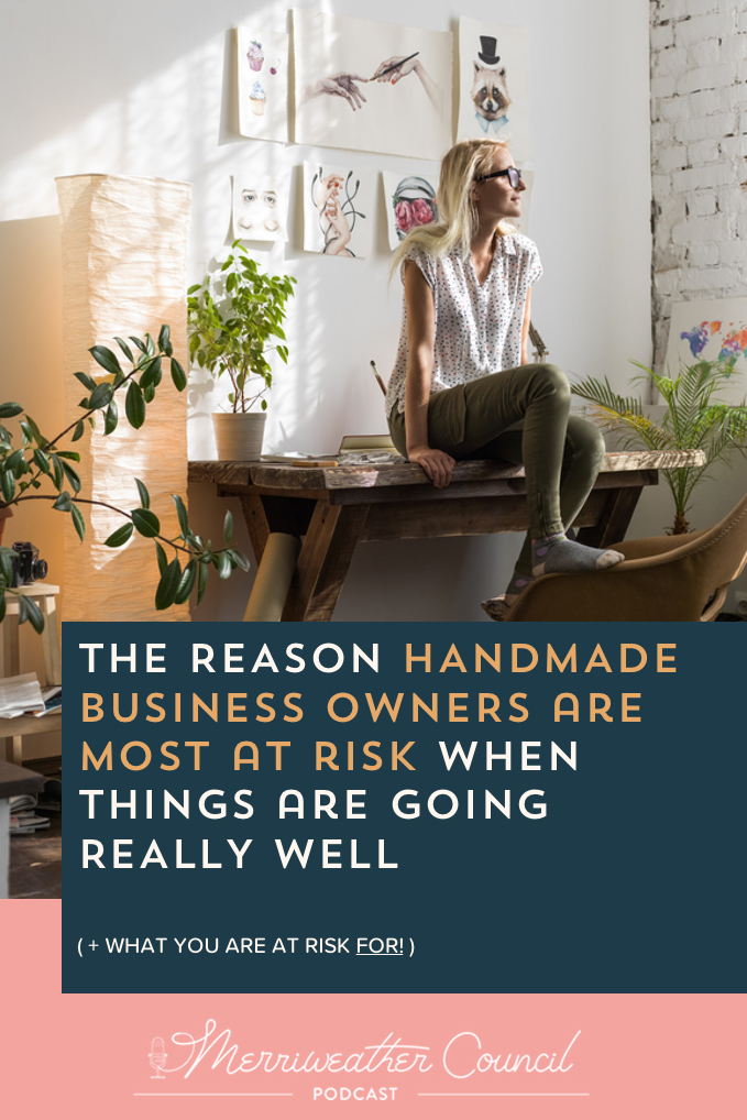 handmade businesses are most at risk | Merriweather Council Podcast | Graphic 1