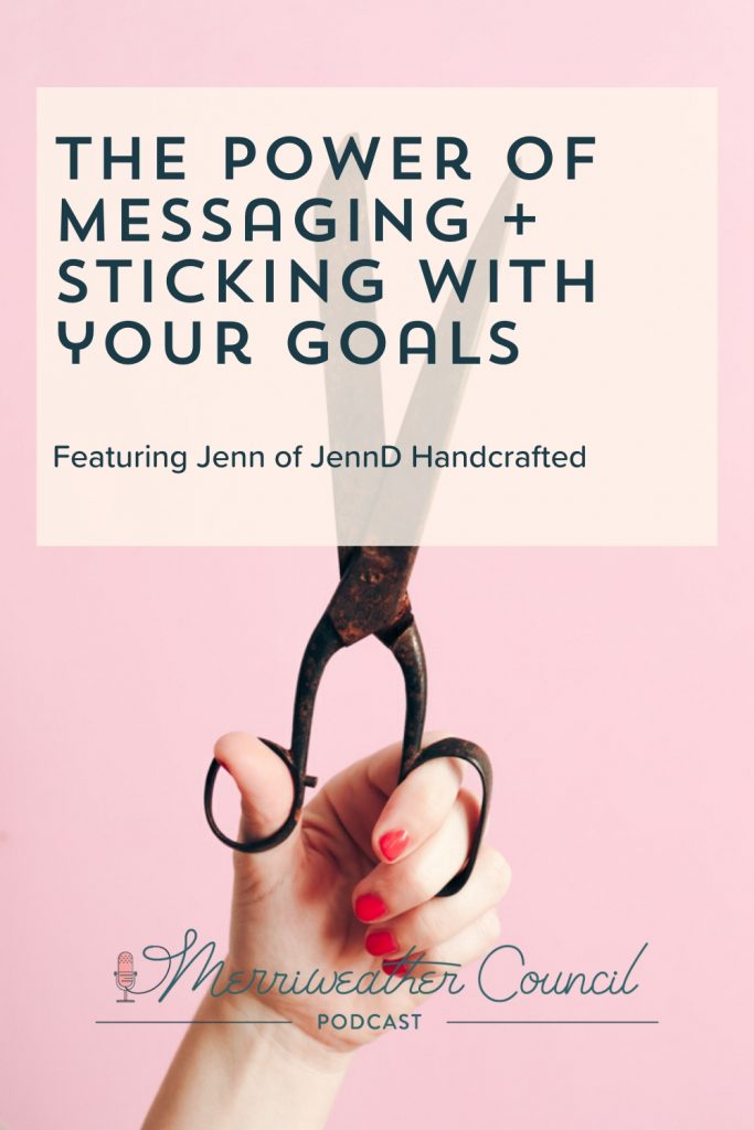 sticking with your goals - graphic 1 - merriweather council blog