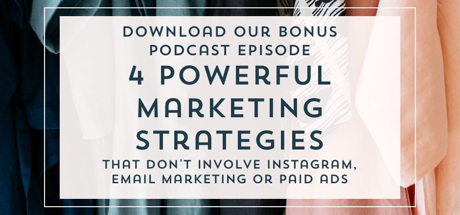 Four Powerful Marketing Strategies B