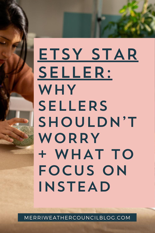 Etsy Star Seller